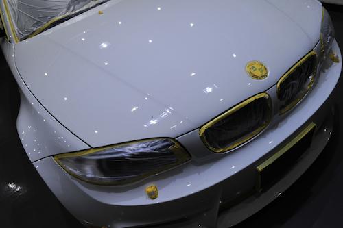 BMW 1Mクーペ (UR91)|磨きコーティング画像