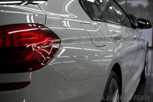 BMW640グランクーペにガラスコーティング画像