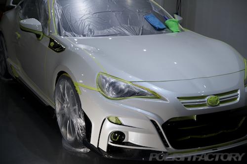 トヨタ86G_ガラスコーティング施工画像