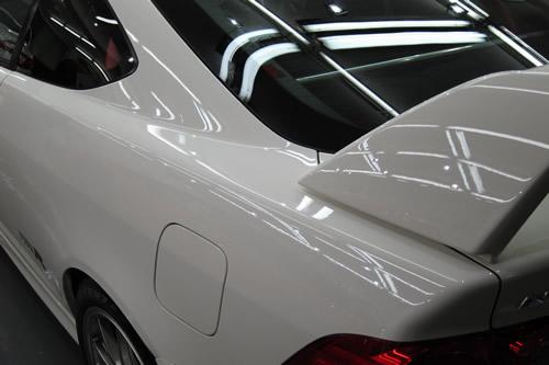 シビックタイプR|磨きボディーガラスコーティング画像