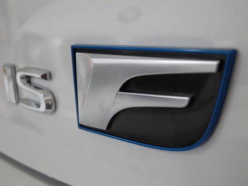 レクサスIS-F|磨きボディーガラスコーティング画像