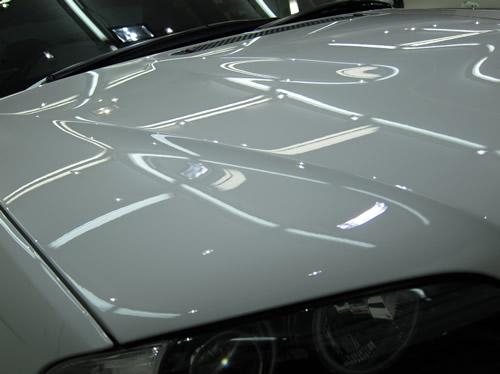 E46-M3|磨きボディーガラスコーティング画像