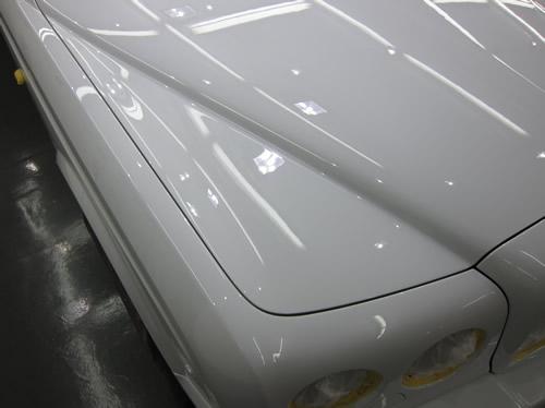ベントレーアルナージT|磨きボディーガラスコーティング画像