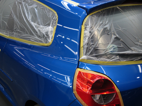 ルノールーテシア3RS|ガラスコーティング画像