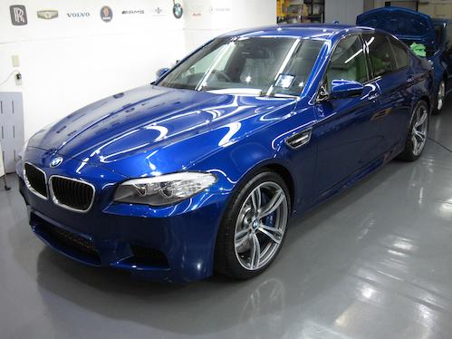BMW M5 (F10)|ガラスコーティング画像