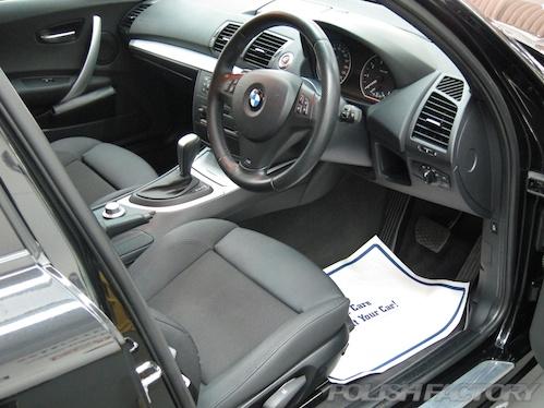 E82 BMW118iMスポーツ施工画像