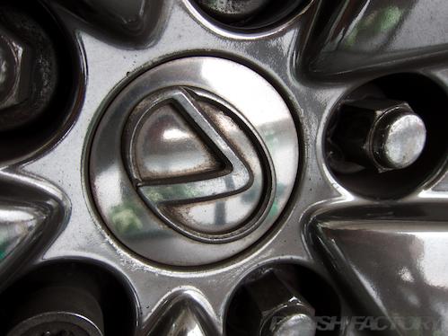 レクサスLS|磨きボディーガラスコーティング画像