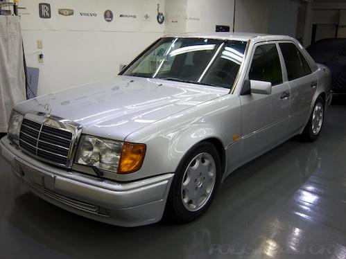 W124E500|磨きガラスコーティング画像