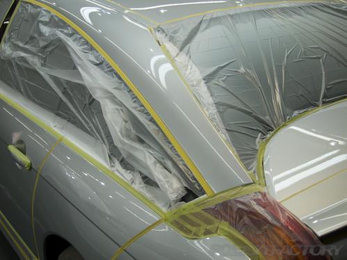 シトロエンC6|磨きボディーコーティング画像