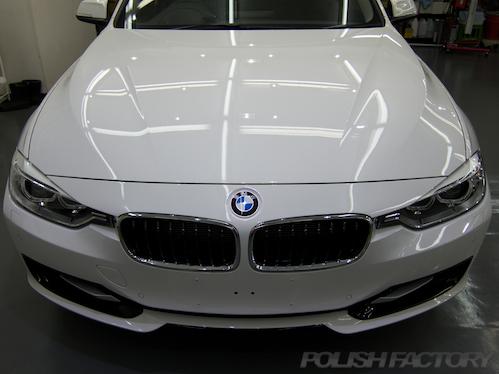 BMW320_F30_ガラスコーティング画像