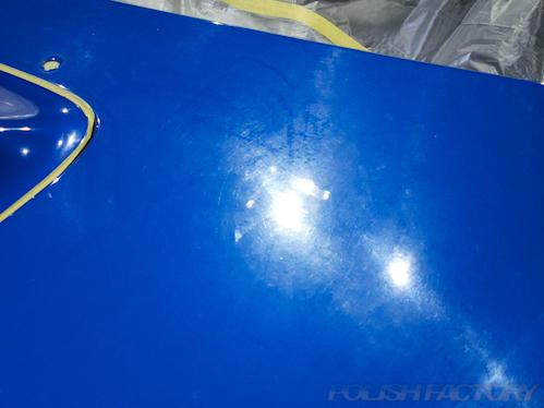 インプレッサWRX_STi磨きガラスコーティング画像