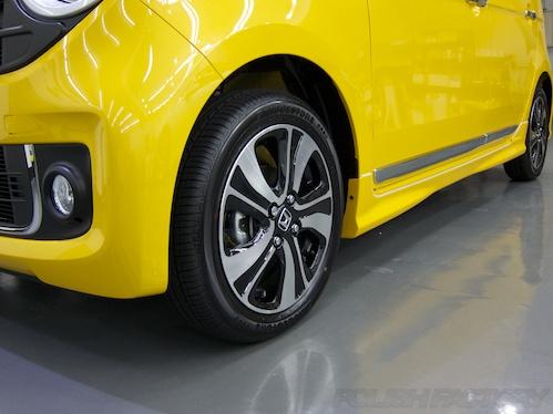 ホンダN-ONE_新車ガラスコーティング画像