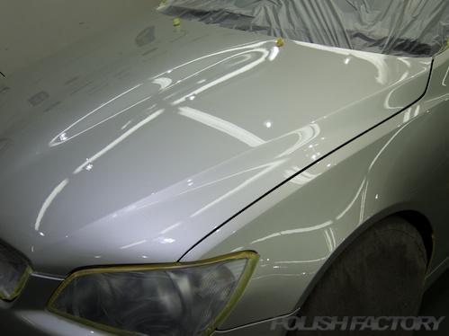 アルテッツァ磨きガラスコーティング画像