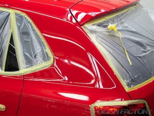 POLO_TSI_新車磨きガラスコーティング画像