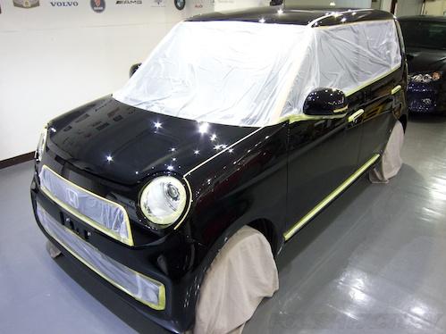 N-ONE_新車ガラスコーティング施工画像