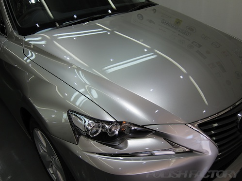レクサスIS300h_新車ガラスコーティング施工画像