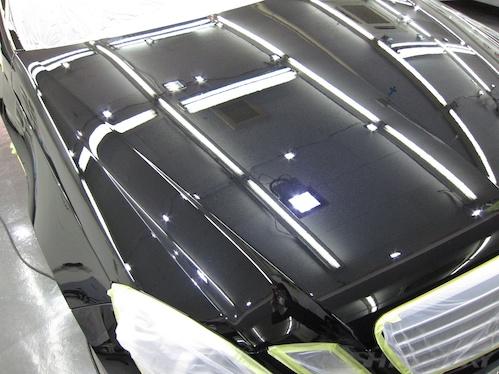 E63AMG_ガラスコーティング施工画像